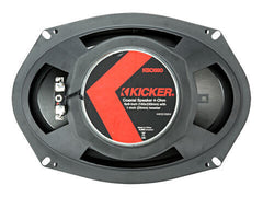 "Kicker 44KSC6904 - KS Series 6x9"" Coax - KSC690 6x9-Inch (160x230mm) Coaxial Speakers w/ 1-Inch (25mm) tweeters, 4-Ohm"