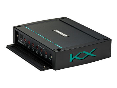 Kicker 44KXMA12001 - KXMA1200.1 Amplifier - KXMA1200.1 1200-Watt Mono Class D Subwoofer Amplifier