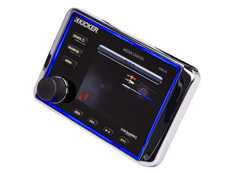Kicker KMC20 - KMC20 Media Center - KMC20 Premium Marine Media Center w/Bluetooth®