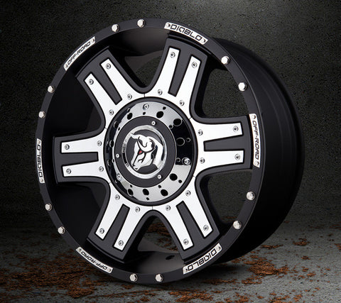 Brute Dirt Wheel by Diablo Wheels
