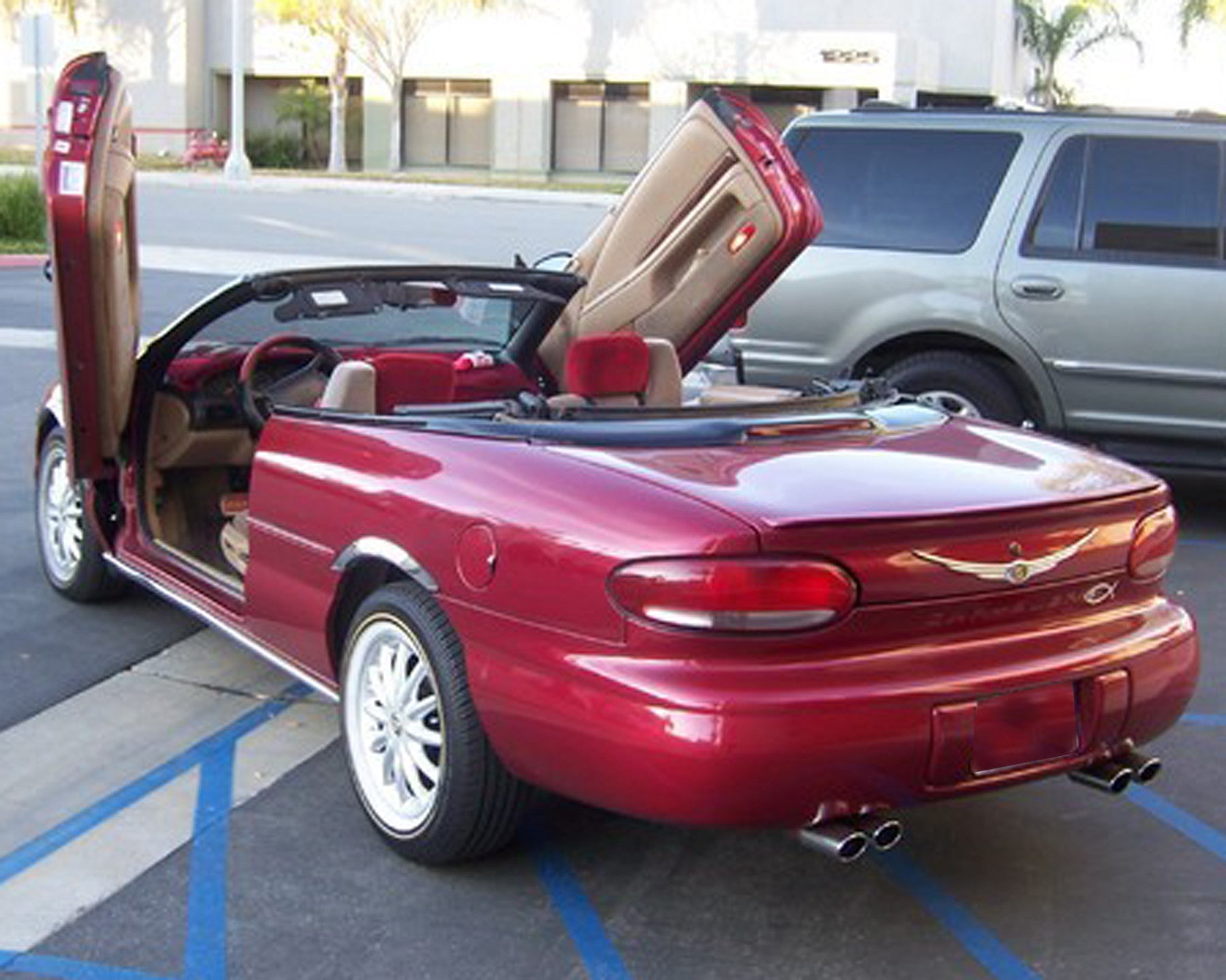 Chrysler Sebring Convertible 1995-2000 Vertical Lambo Doors