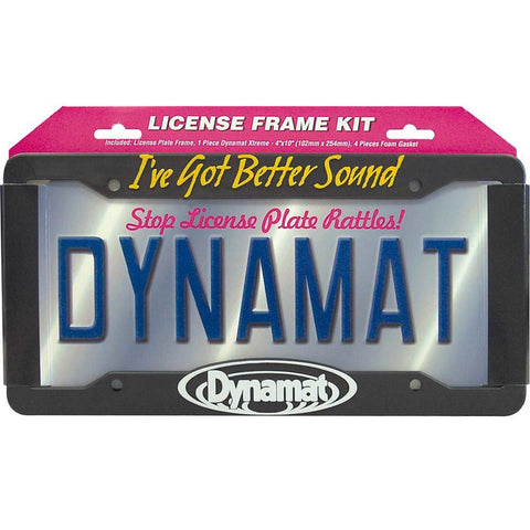 Dynamat License Plate Kit 19100