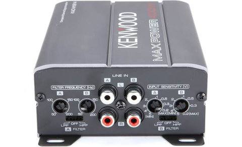 Kenwood KAC-M1814 - Compact 4-Channel Digital Amplifier