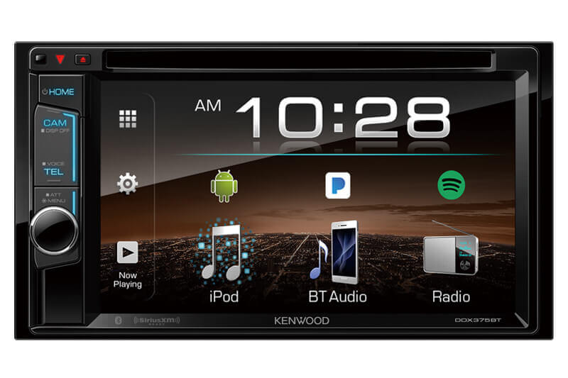 Kenwood DDX375BT - 2-Din Monitor Receiver  with Bluetooth
