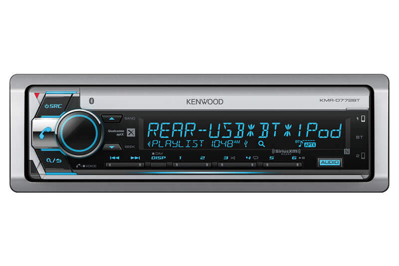 Kenwood-KMR-D772BT-Marine-CD-Receiver-with-Bluetooth