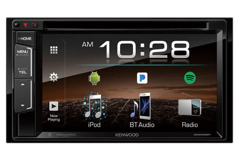 Kenwood DDX25BT 2-Din Monitor Receiver  with Bluetooth