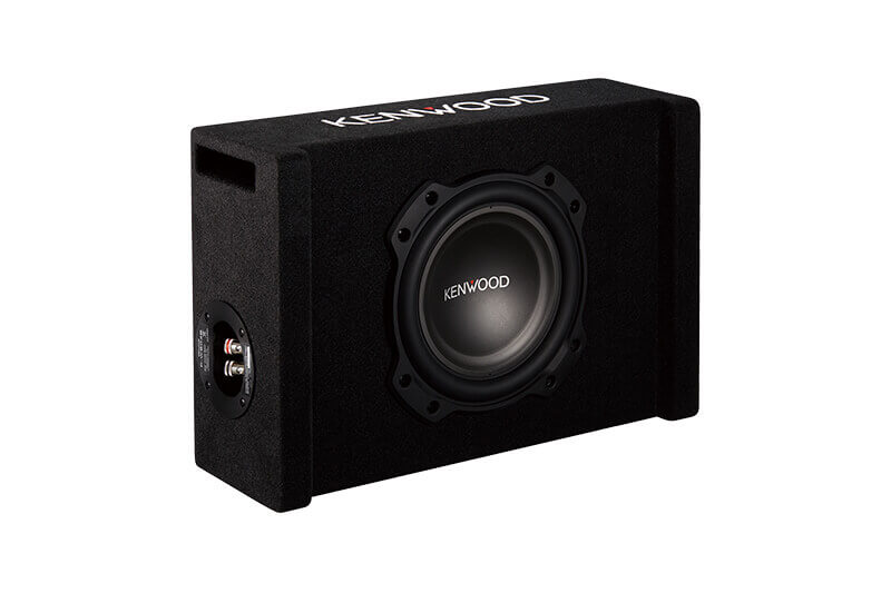 "Kenwood-P-W804B-8""-Oversized-Subwoofer-in-Ported-Enclosure"