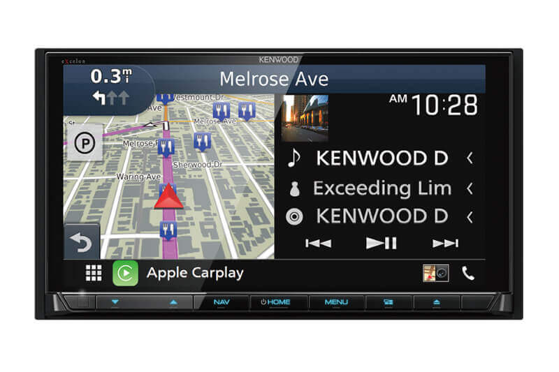 Kenwood-eXcelon-DNX995S-AV-Navigation-System-with-Bluetooth