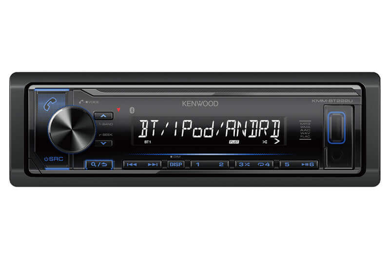 Kenwood-KMM-BT222U-Digital-Media-Receiver-with-Bluetooth