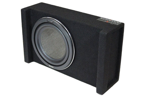 "Kenwood-Excelon-P-XW1001B-10""-Subwoofer-in-Sealed-Enclosure"