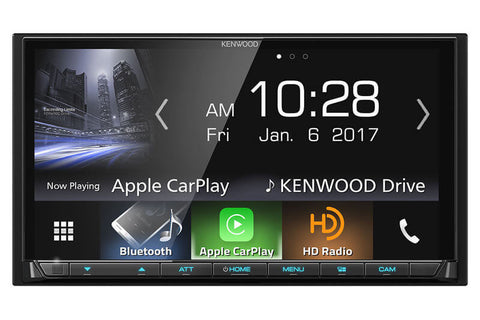 Kenwood DMX7704S - 2-DIN Digital Media Receiver with Bluetooth and HD Radio