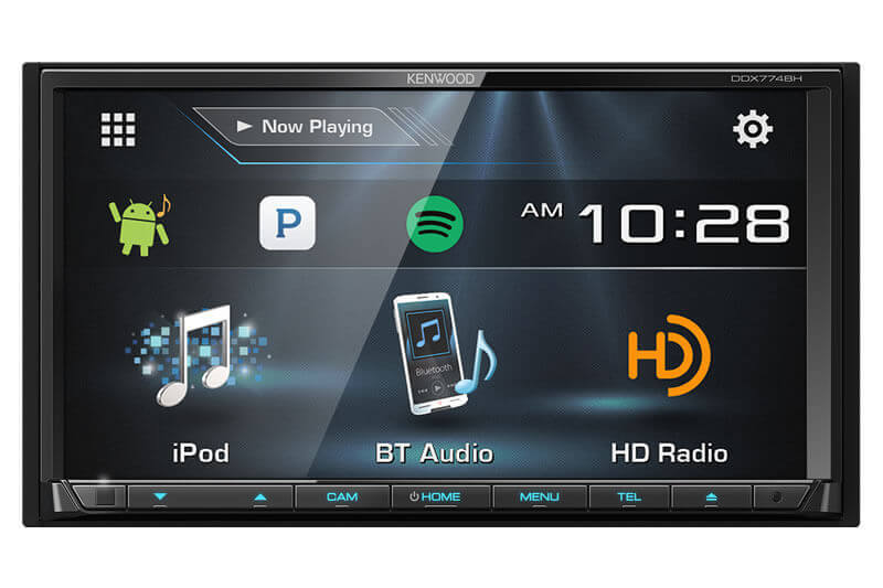 Kenwood DDX774BH - 2-DIN Monitor Receiver