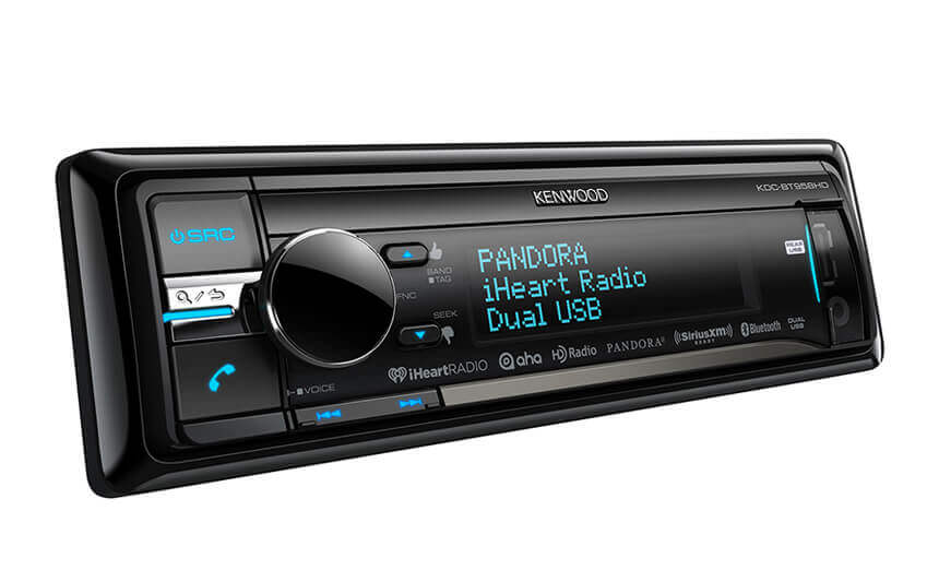 Kenwood KDC-BT958HD - CD Receiver with Built-in Bluetooth & HD Radio