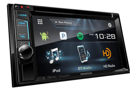 Kenwood DDX574BH - 2-DIN Monitor Receiver with Bluetooth & HD Radio