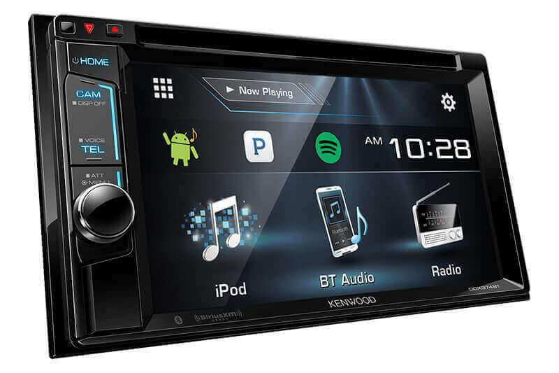 Kenwood DDX374BT - 2-DIN Monitor Receiver with Bluetooth