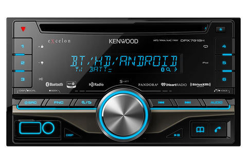 Kenwood Excelon DPX791BH