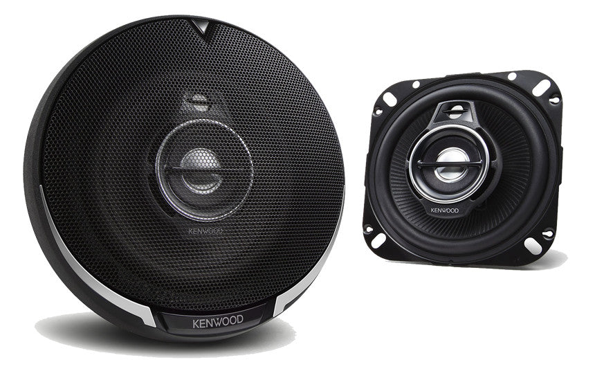 Kenwood-KFC-1095PS-4''-Round-3-way-3-Speaker