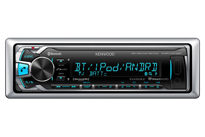 Kenwood Marine Radio & Speaker Package