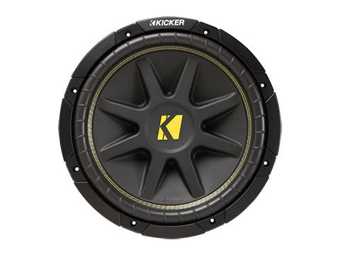 "Kicker 12"" Comp 4 Ohm DVC"