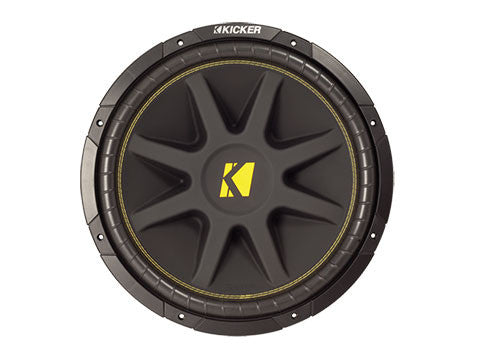 "Kicker 15"" Comp 4 Ohm DVC"