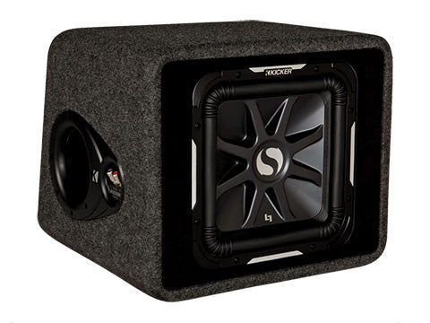 "Kicker 12"" Solo-Baric L7 2 Ohm Enclosure"