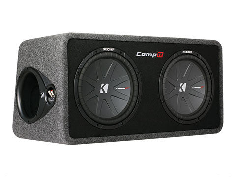 "Kicker 12"" DCompR 2 Ohm Enclosure"