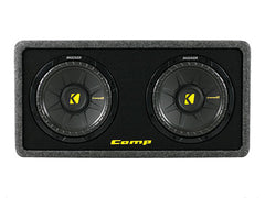 "Kicker 10"" DCompS 2 Ohm Enclosure"