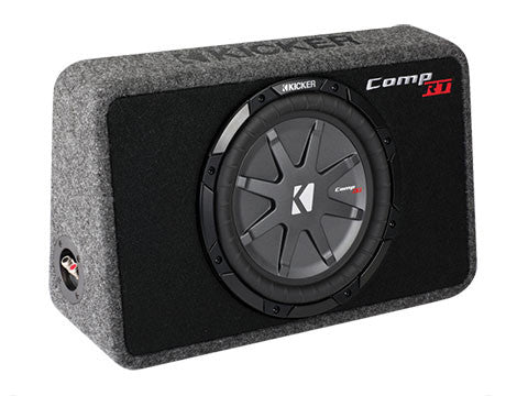 "Kicker 10"" TCompRT 2 Ohm Enclosure"