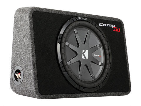 "Kicker 12"" TCompRT 4 Ohm Enclosure"