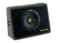 "Kicker 10"" TCompS 2 Ohm Enclosure"