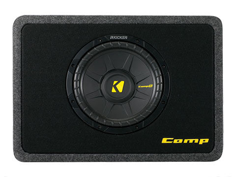 "Kicker 10"" TCompS 4 Ohm Enclosure"
