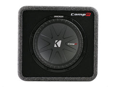 "Kicker 12"" VCompR 2 Ohm Enclosure"