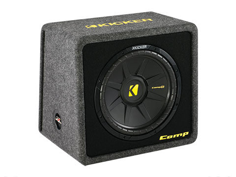"Kicker 12"" VCompS 2 Ohm Enclosure"