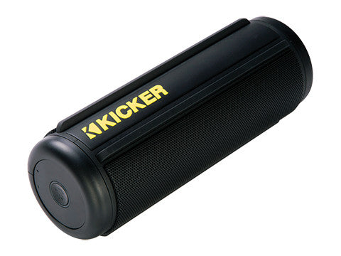 Kicker KPw Black Bluetooth Speaker