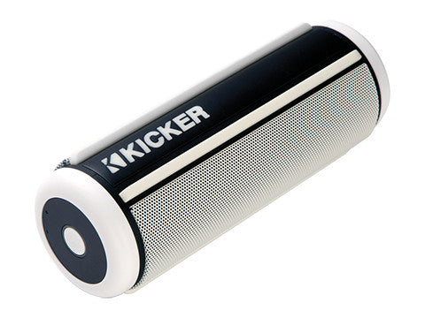 Kicker KPw White Bluetooth Speaker
