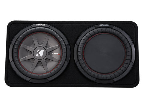 "Kicker 12"" CompRT 2 Ohm Enclosure 43TCWRT122"