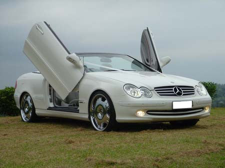 Mercedes CLK 2003-2009 Vertical Lambo Doors