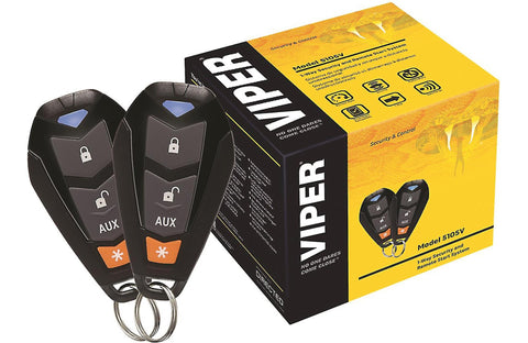 Viper 5105V-Entry-Level-1-Way-Security and Remote-Start-System