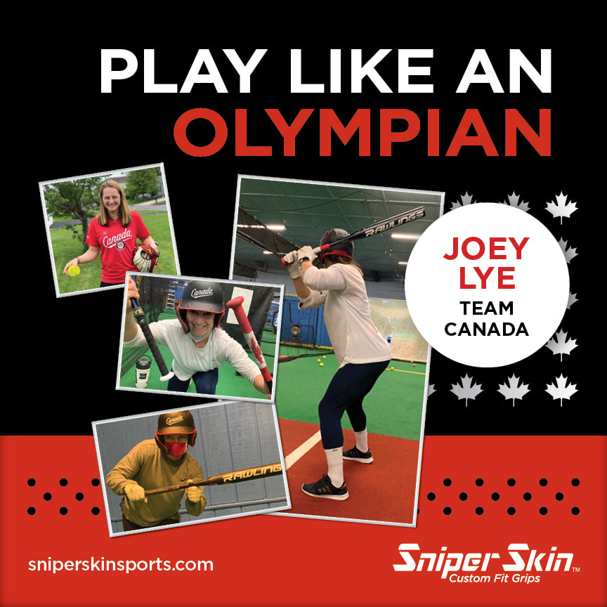 Sniper Skin Signs Partnership with Team Canada Softball Athlete, Joey Lye