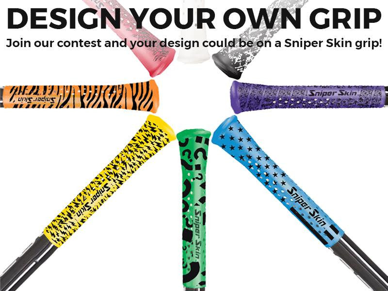 LAST CHANCE TO DESIGN YOUR PATTERNED GRIP