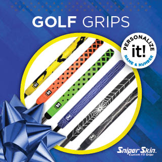 personalize your putter golf grips by Sniper Skin