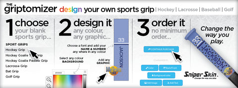 design your own lacrosse grip