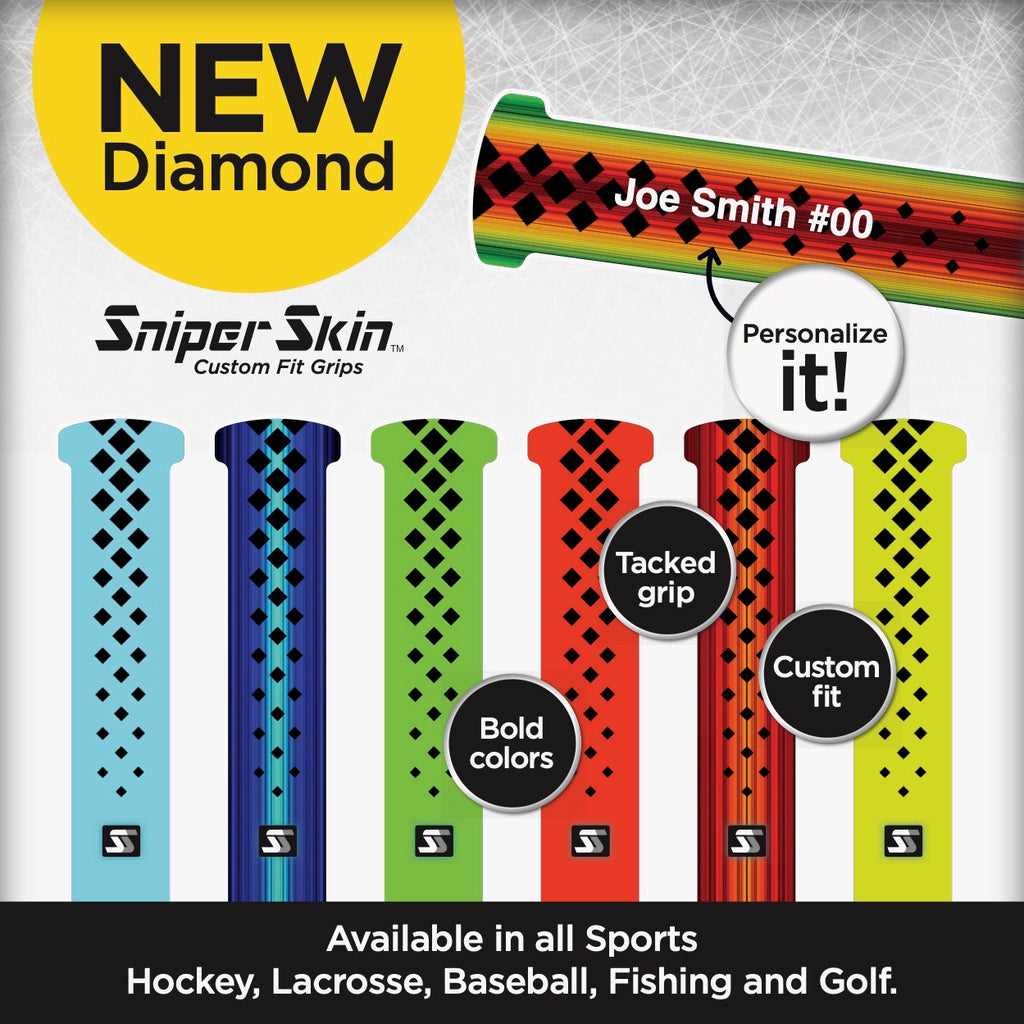 Diamond grips for all sports