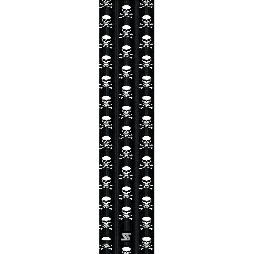 Black Skulls Super Hero Fishing Grip