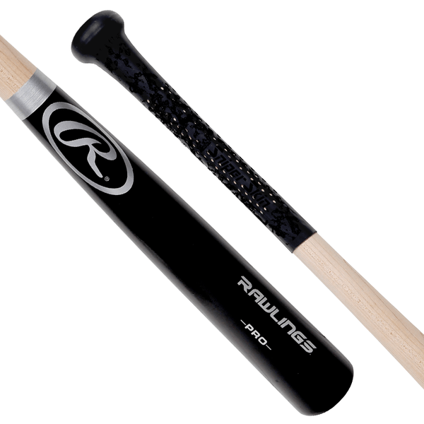 Black bat grip, black print, no pattern