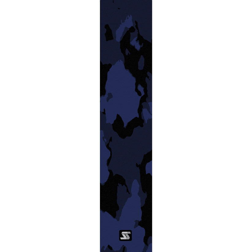 dawn blue black fishing grip