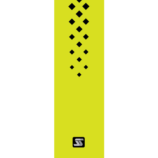 Diamond yellow hockey grip