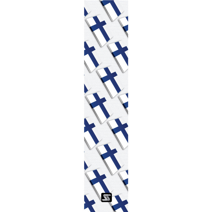 Finland small flags hockey grip