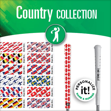 COUNTRY FLAG GOLF GRIPS SNIPER SKIN