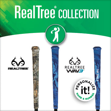REALTREE GOLF GRIPS BY SNIPER SKIN
